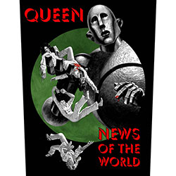 Queen Back Patch: News of the World