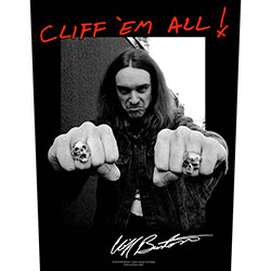 Metallica Back Patch: Cliff 'Em All!