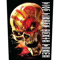 Five Finger Death Punch Back Patch: And Justice for None (Loose)