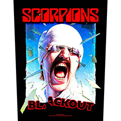 Scorpions Back Patch: Blackout (Loose)