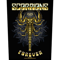 Scorpions Back Patch: Forever (Loose)