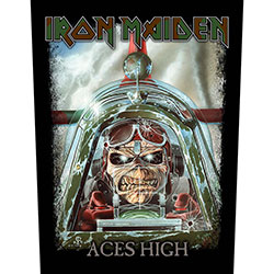 Iron Maiden Back Patch: Aces High (Loose)