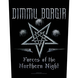 Dimmu Borgir Back Patch: Forces of the Northern Night