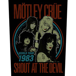 Motley Crue Back Patch: Shout at the Devil (Loose)