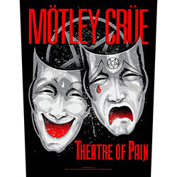 Motley Crue Back Patch: Theatre of Pain (Loose)