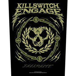Killswitch Engage Back Patch: Skull Wreath (Loose)