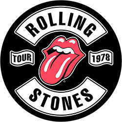 The Rolling Stones Back Patch: Tour 1978 (Loose)