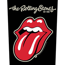 The Rolling Stones Back Patch: Plastered Tongue (Loose)