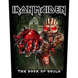Iron Maiden Back Patch: Eddie's Heart (Loose)