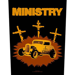 Ministry Back Patch: Jesus Built My Hot-Rod (Loose)