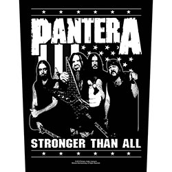 Pantera Back Patch: Stronger Than All (Loose)