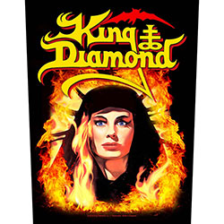 King Diamond Back Patch: Fatal Portrait (Loose)