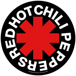 Red Hot Chili Peppers Back Patch: Asterisk (Loose)