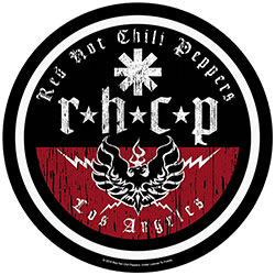 Red Hot Chili Peppers Back Patch: L.A. Biker (Loose)