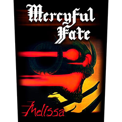 Mercyful Fate Back Patch: Melissa (Loose)