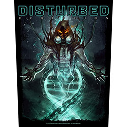 Disturbed Back Patch: Evolution