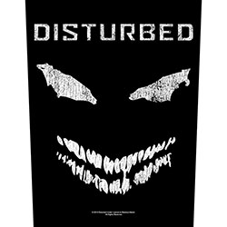 Disturbed Back Patch: Face (Loose)