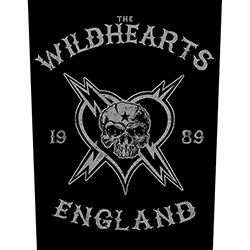 The Wildhearts Back Patch: England Biker (Loose)
