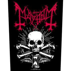Mayhem Back Patch: Alpha Omega Daemon