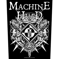 Machine Head Back Patch: Crest (Loose)