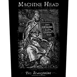Machine Head Back Patch: The Blackening (Loose)