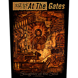 At The Gates Back Patch: Slaughter of the Soul