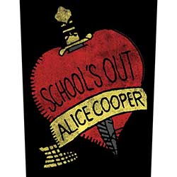 Alice Cooper Back Patch: School's Out