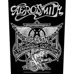 Aerosmith Back Patch: Permanent Vacation
