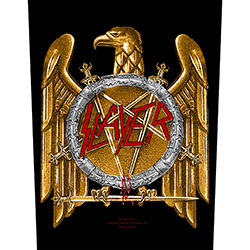 Slayer Back Patch: Golden Eagle