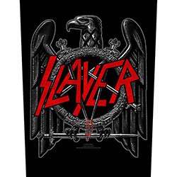Slayer Back Patch: Black Eagle