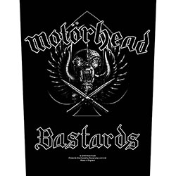 Motorhead Back Patch: Bastards