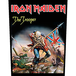Iron Maiden Back Patch: The Trooper