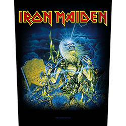 Iron Maiden Back Patch: Live After Death