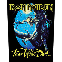 Iron Maiden Back Patch: Fear Of The Dark