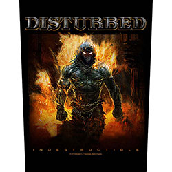 Disturbed Back Patch: Indestructible