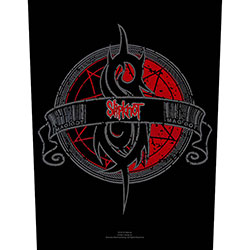 Slipknot Back Patch: Crest
