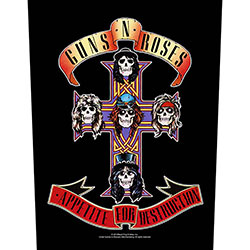 Guns N' Roses Back Patch: Appetite For Destruction