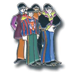 The Beatles Pin Badge: Yellow Submarine Band