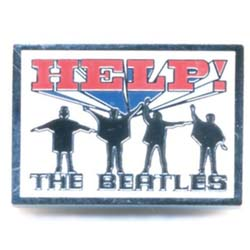 The Beatles Pin Badge: Help!