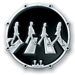The Beatles Pin Badge: Abbey Road Crossing