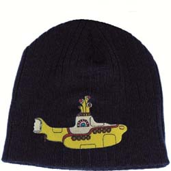 The Beatles Men's Beanie Hat: Yellow Submarine