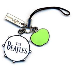 The Beatles Phone Charm: Drum/Apple