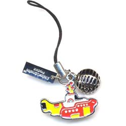 The Beatles Phone Charm: Yellow Submarine