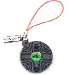 The Beatles Phone Charm: The Beatles Record
