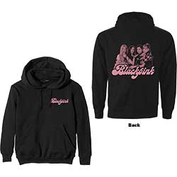 BlackPink Unisex Pullover Hoodie: Photo Back (Back Print)