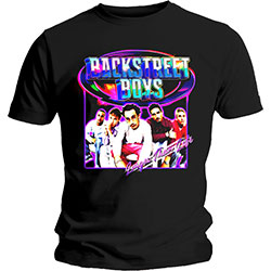 Backstreet Boys Men's Tee: Larger Than Life