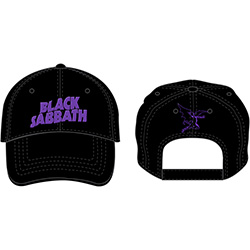 Black Sabbath Unisex Baseball Cap: Demon & Logo