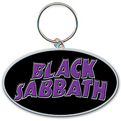 Black Sabbath Standard Keychain: 13 Flame Circle