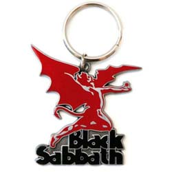 Black Sabbath Keychain: Daemon (Enamel In-fill)