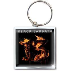 Black Sabbath Keychain: 13 (Photo-print)